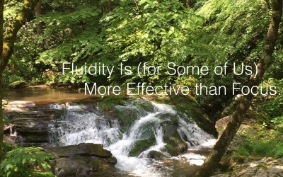 Fluidity Is (for Some of Us) More Effective than Focus