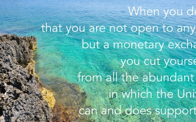 Money Is Not Your Only Resource.